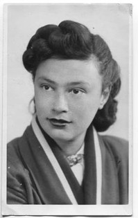 In London as a student, 1948