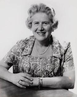 Rudi's mother in Bradford in the 1960s