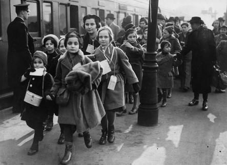 Kindertransport arrivals