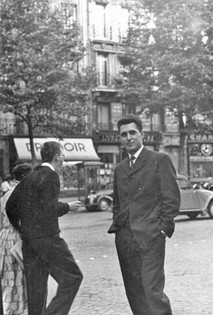 Janos on his first holiday to Paris, 1958