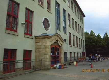Erfurt - school with gym hall