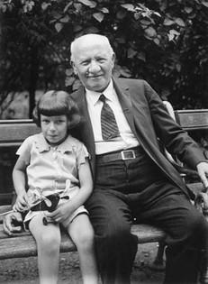 George & grandfather Klausner (maternal)