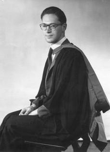 Graduation from Leeds, 1960