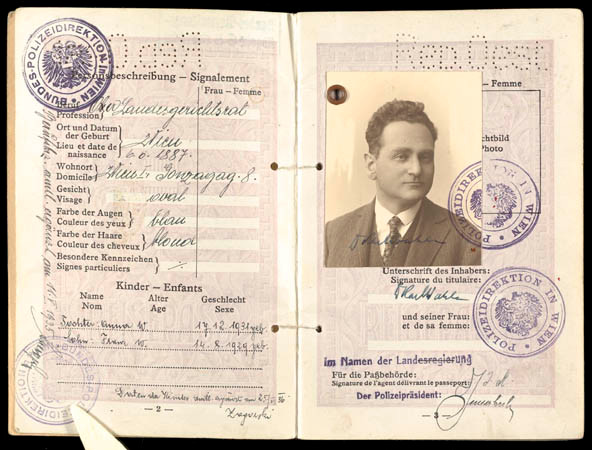 Early identification papers of father