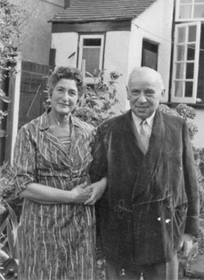 Hanna's parents circa 1956