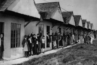 Kindertransport children housed at Dovercourt, a holiday camp near Harwich, December 1938