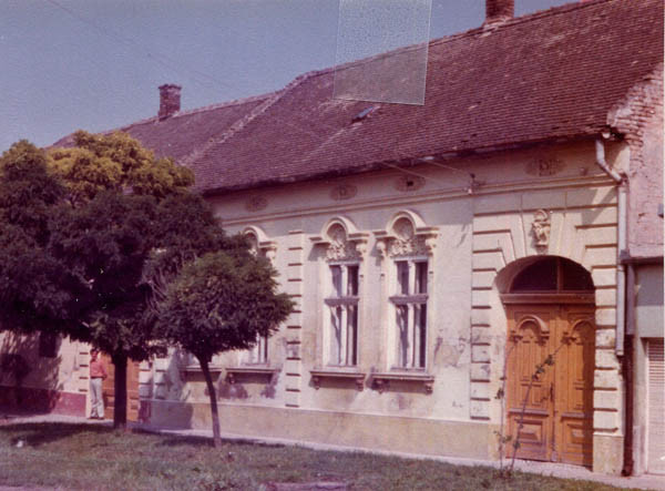 The house in Vrbas where Ivan was hidden for seven months