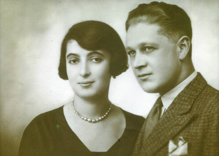 Ivan's parents, 1927