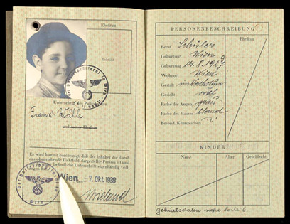 Identification papers, 1938