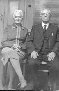 Aunt Elsa and uncle Adolf Schanzer post-war