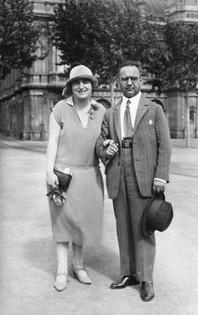 Suzanne's parents circa 1925