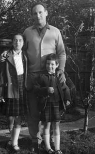 Laszlo with his daughters
