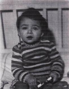 Rudi's cousin, Dan, who perished in Auschwitz