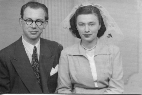 Married by special licence on 3 January, 1952