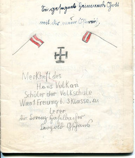 'Austria becomes part of the German Reich' school book, March 1938