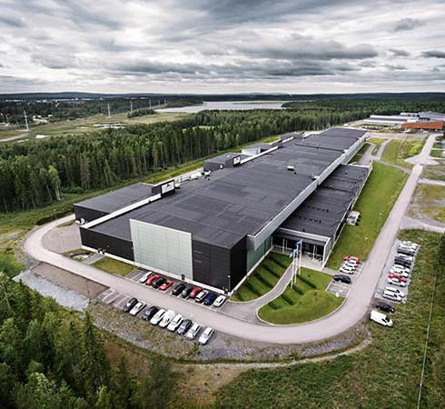 Facebook's data centre, Luleå, northern Sweden