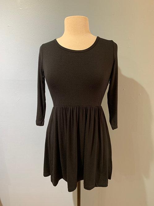 Black Soft Knit Tunic