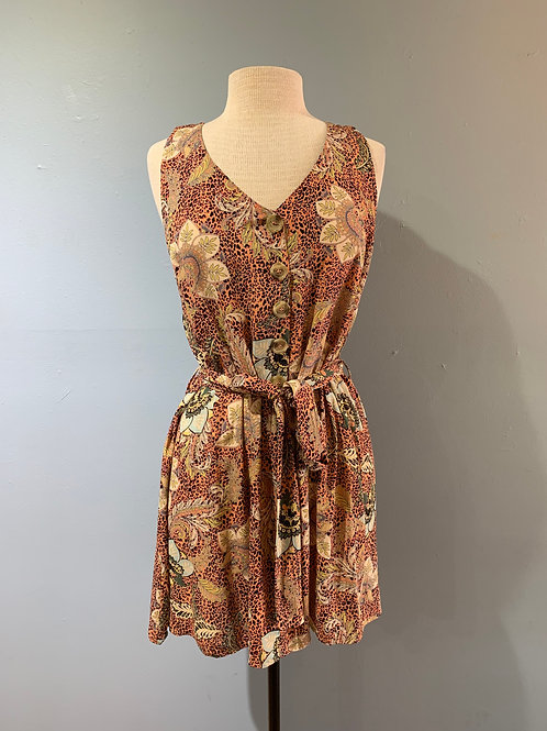 Easy Floral Summer Dress