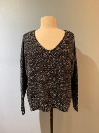 Spencer Metallic Knit Sweater