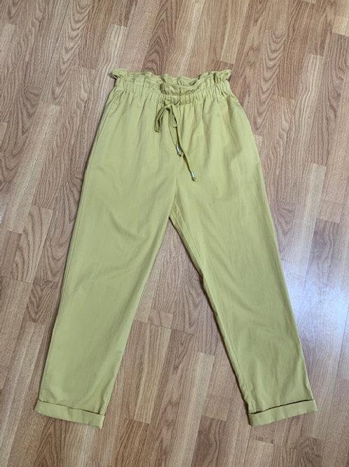 Mustard Drawstring Pants