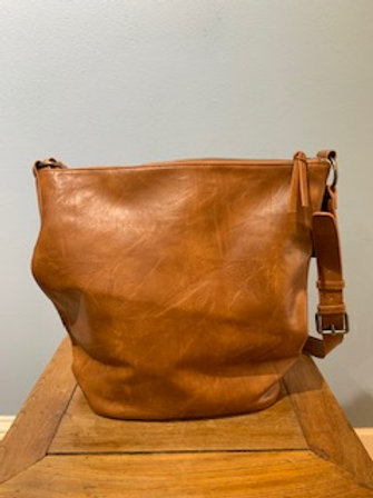 Whiskey Nori Crossbody Bucket Bag