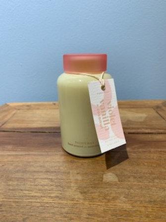 Violet Vanilla & Coconut Candle
