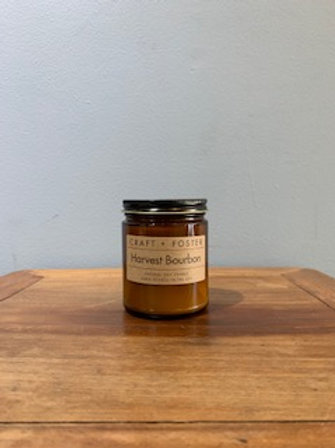 Harvest Bourbon Soy Candle