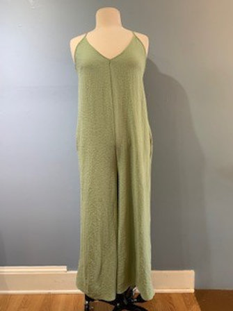Sage Relaxed Jumpsuit