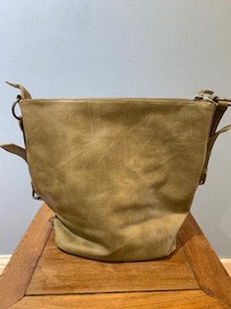 Olive Nori Crossbody Bucket Bag