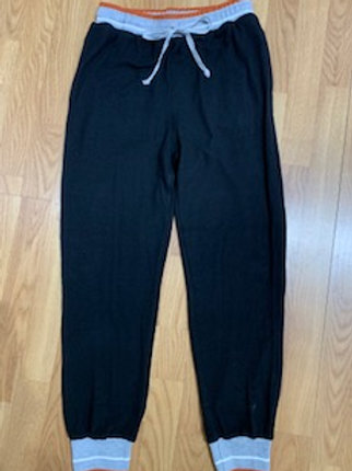 Black Joggers with Trim