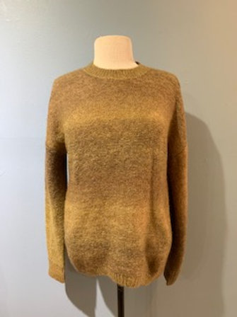 Ombre Sweater with Back Detail