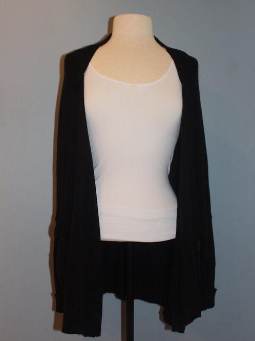 long sleeve open cardigan with cuffs