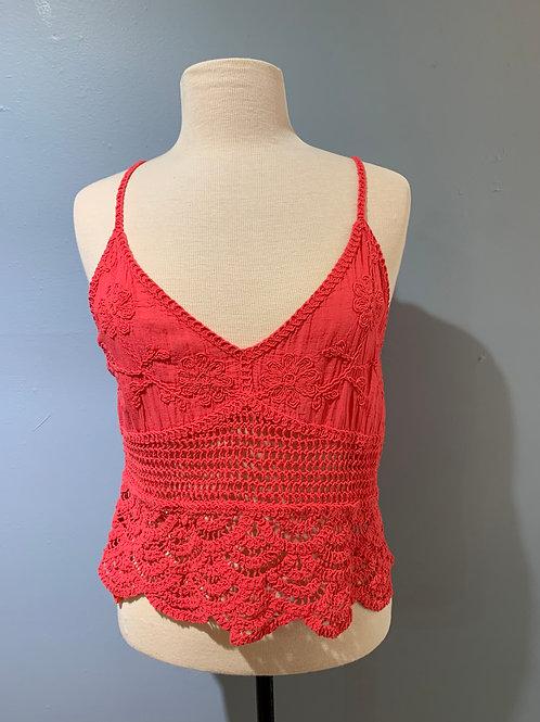 Poppy Crochet Tank
