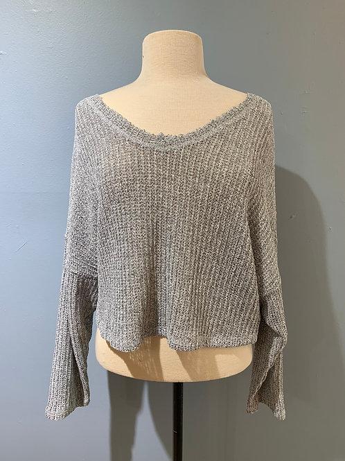 Lightweight L/S V Neck Sweater