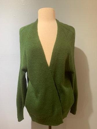Forest Green Grandpa Sweater