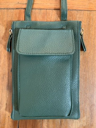 Green Crossbody Wallet/Bag