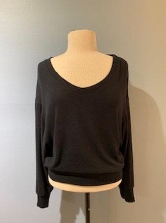 Black Super Soft Sweatshirt