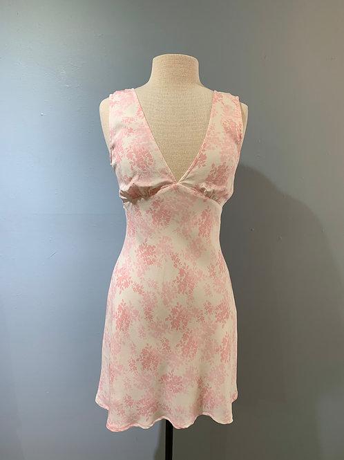 Pink Petal Floral Dress