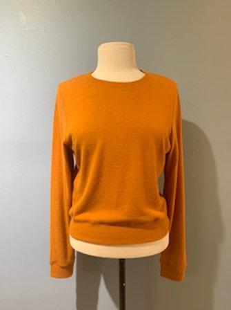 Pumpkin Crewneck Sweater