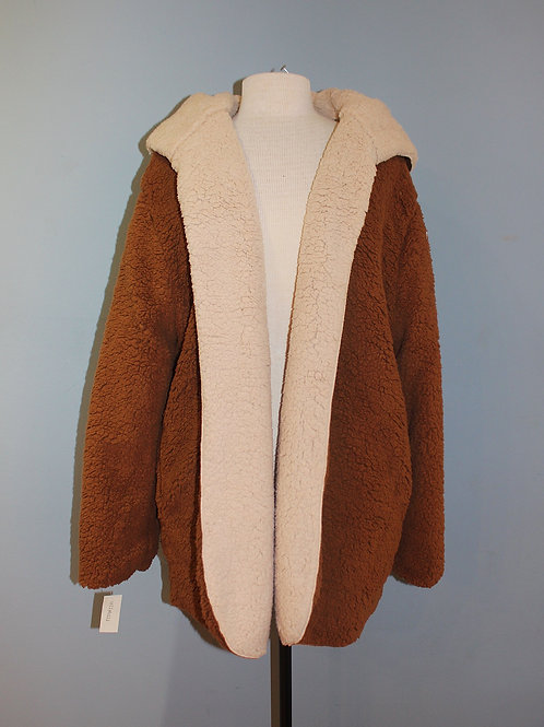 reversible fuzzy jacket