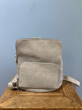 Grey Julia Mini Backpack