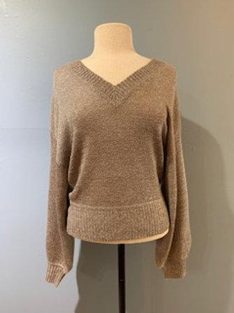 Blush/Grey Melange Sweater