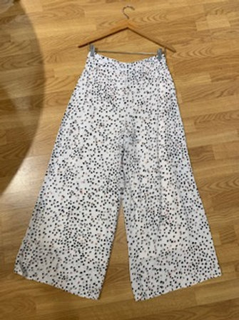 Blush & Black Print Pants