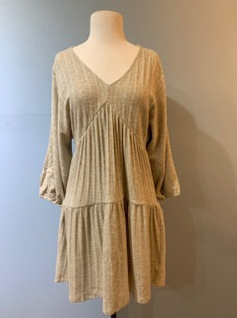Oatmeal Knit Dress