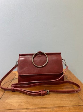 Ava Convertible Bag Burgundy