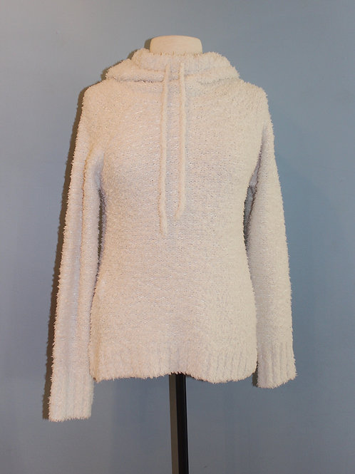 cream oversized hoody