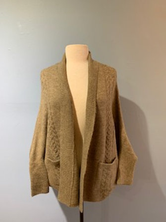 Mocha Look By M Cardigan