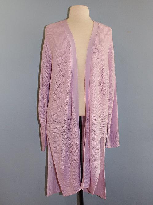 lightweight lilac cardigan