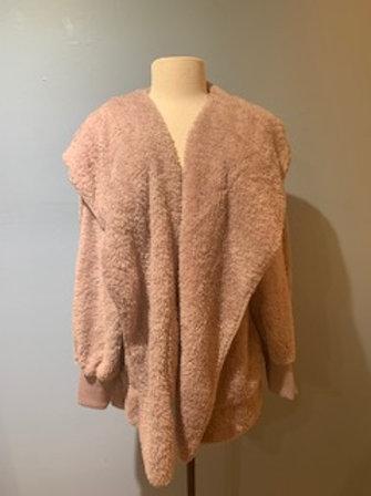 Mauve Teddy Bear Coat