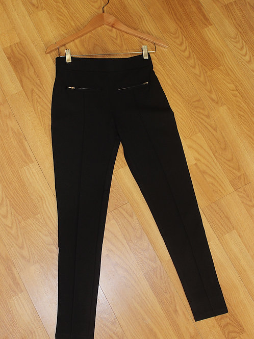 structured knit pant
